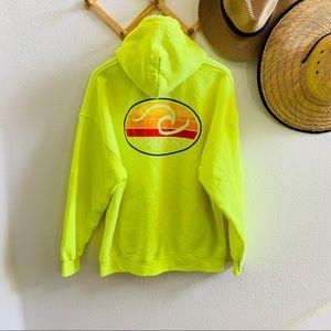 BEAUFORT S.Carolina hoodie sweatshirt neon XL